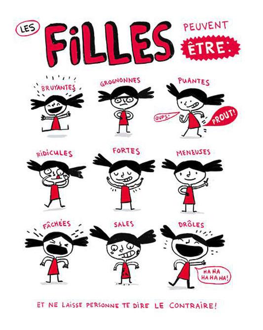 Filles, d'Élise Gravel