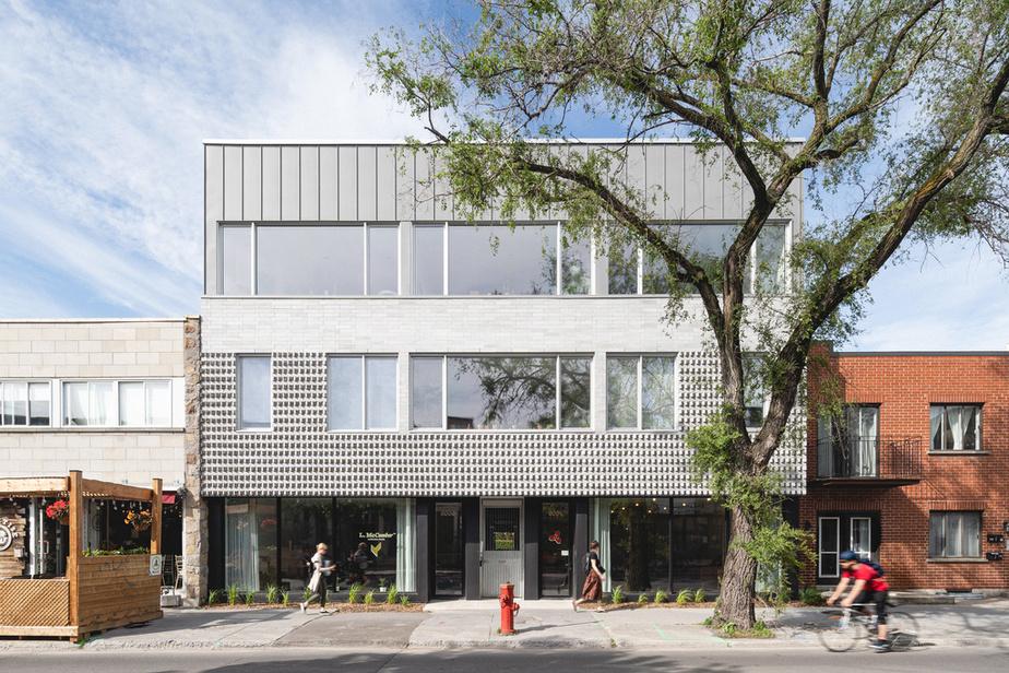 Off Plaza L. McComber – architecture vivante