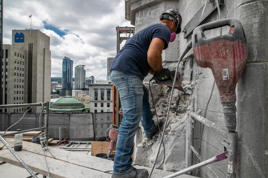 Le chantier de la première de huit phases de travaux a débuté le 23 juin dernier.