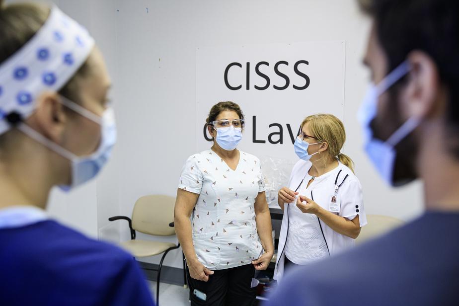 Depuis trois semaines, le CISSS de Laval offre à ses travailleurs une Certification de port et retrait de l'équipement de protection individuelle et hygiène des mains.