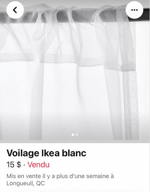Rideau IKEA
