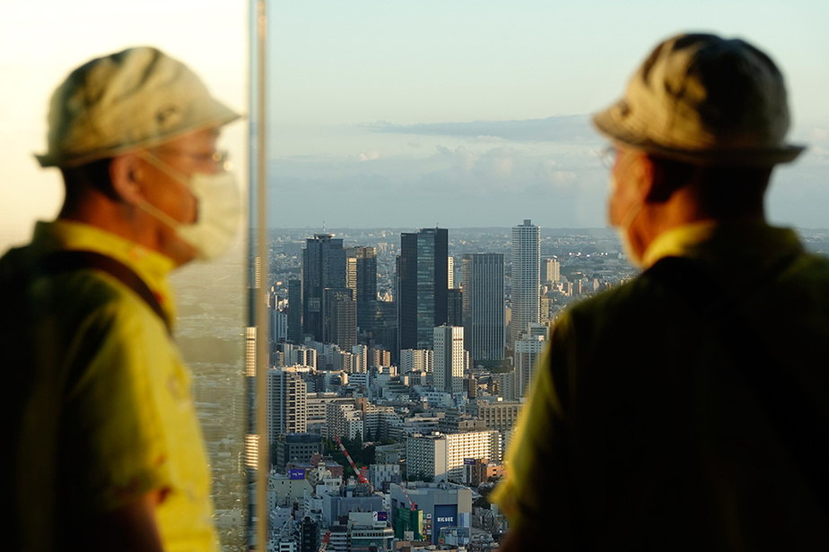 Une autre vue de la ville de Tokyo à partir du sommet de l'édifice Sunshine City60