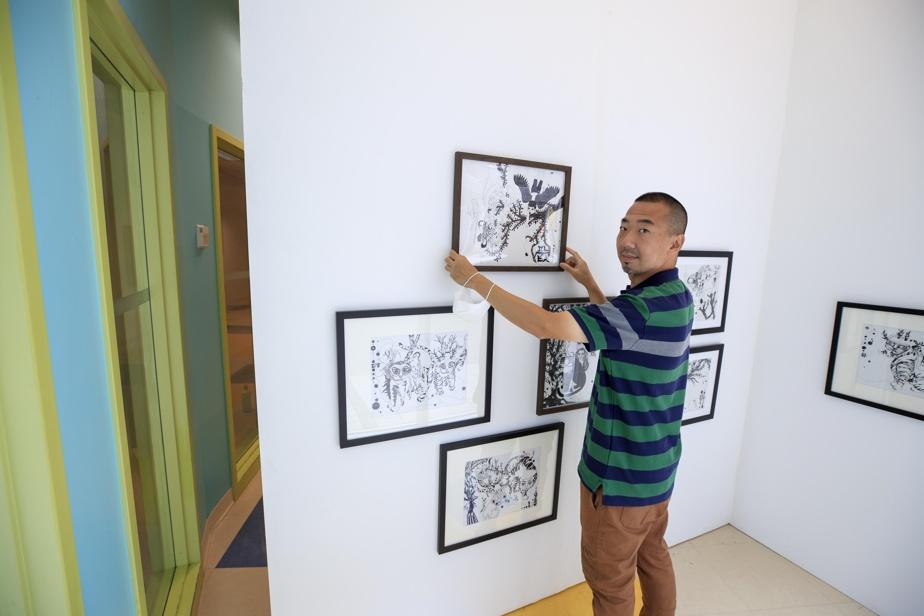 Jongwook Park, un des artistes en résidence