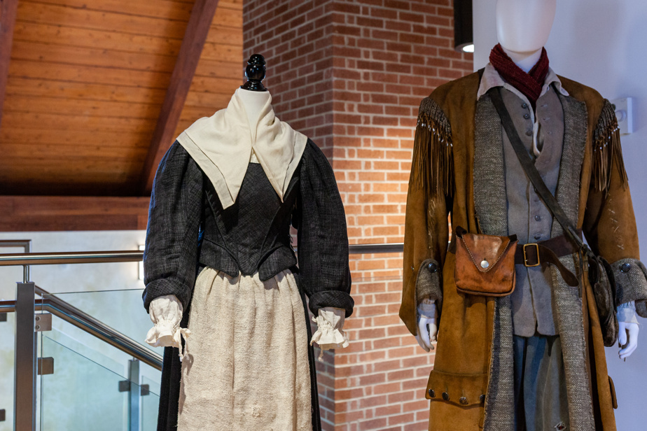 Costumes du créateur Mario Davignon exposés au Domaine Trinity d'Iberville, à Saint-Jean-sur-Richelieu