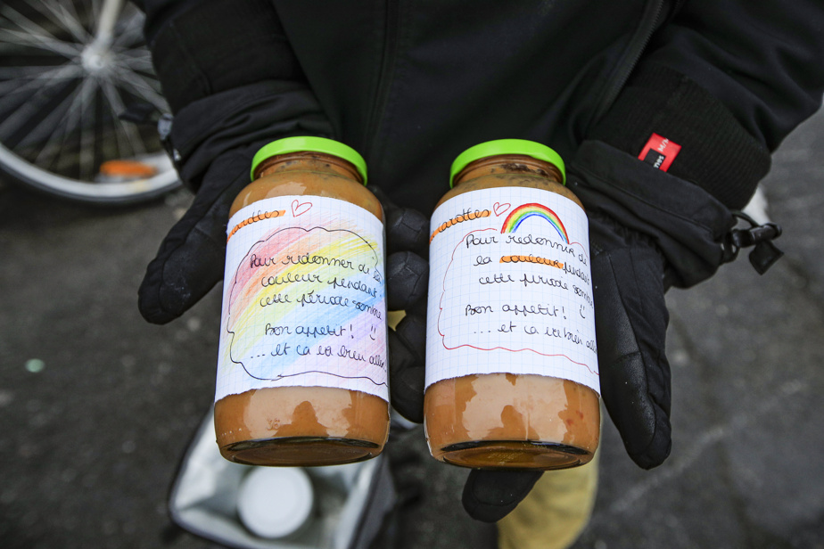 Exemples de plats cuisinés par des bénévoles et distribués par Faisenpour2