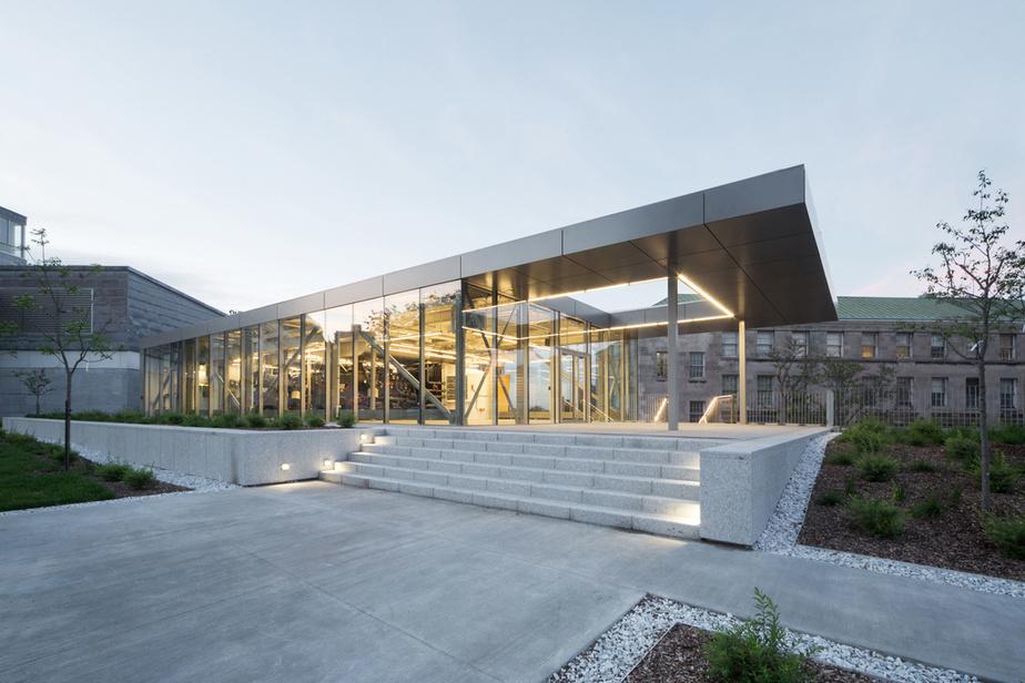 Université McGill – centrale électrique Architectes FABG
