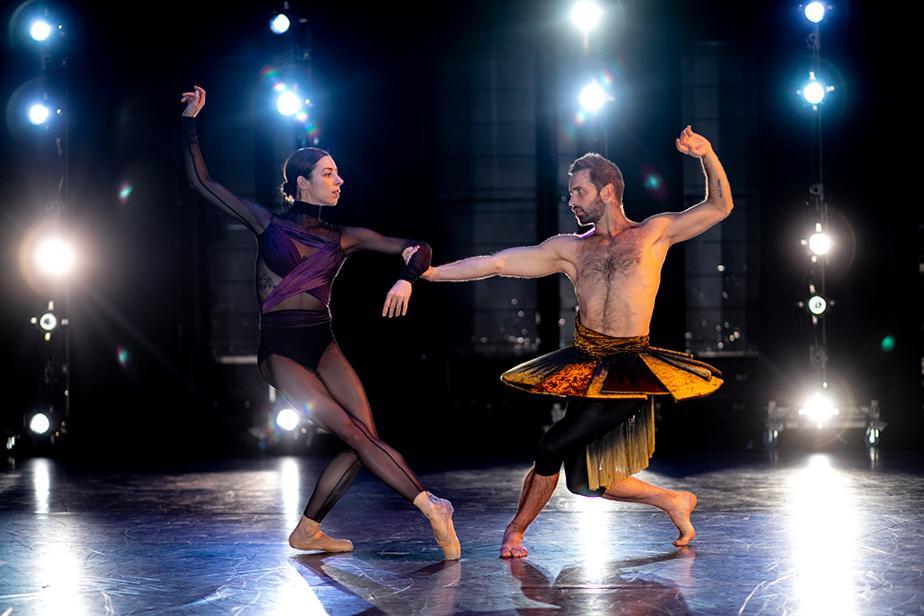 13 février 2020. Maude Sabourin et Raphaël Bouchard préparent la prochaine création des Grands Ballets canadiens de Montréal, Danser Beethoven.