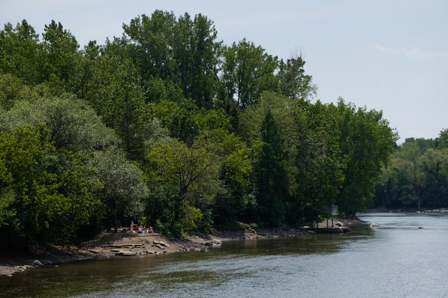 Les jolies berges du parc de l'Île-de-la-Visitation