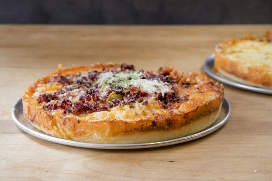 Les pan pizzas de Danny St-Pierre sont à l'honneur au Pontiac.