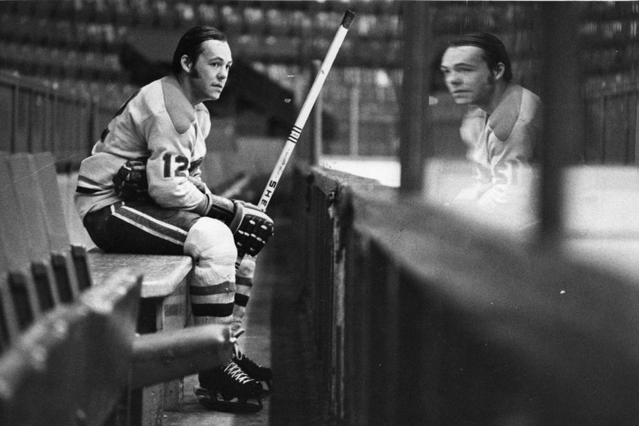 Yvan Cournoyer, joueur du Canadien de Montréal, en 1971