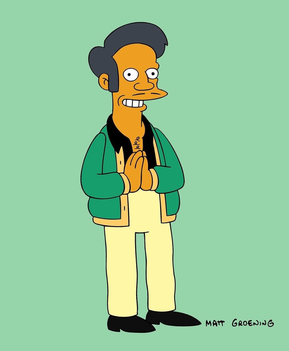 Apu, l'épicier indien, perd sa voix —