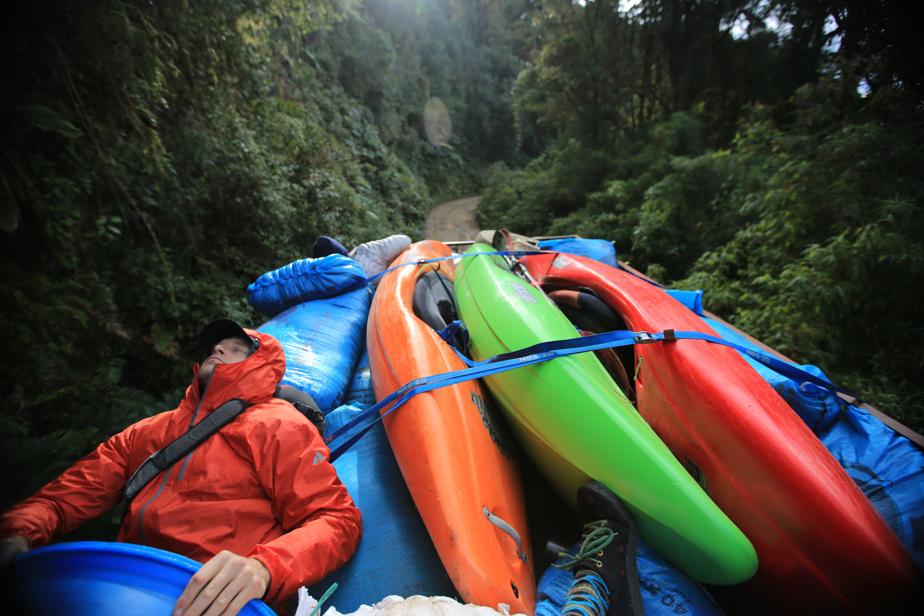Présenté dans le programme Rouge, le film Return to ElGuayas dépeint les aventures de deux kayakistes enColombie.