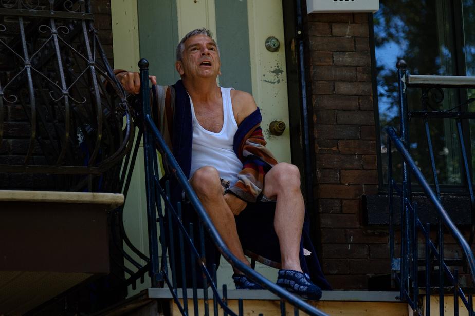 RichardJutras interprète Rolant, un des personnages du projet théâtral En Pointe.