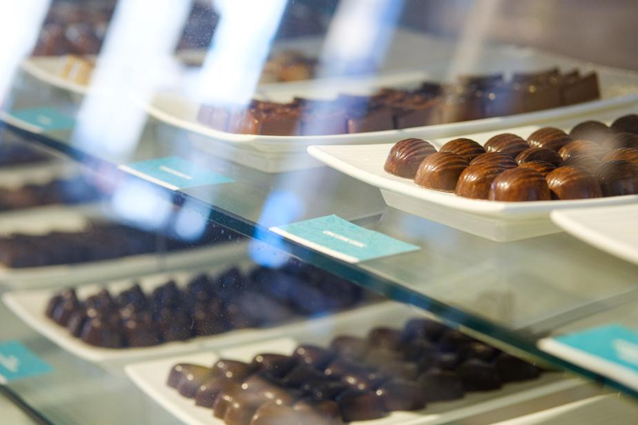 Des bouchées fines de chocolat aux divers parfums chez Choco Chocolat
