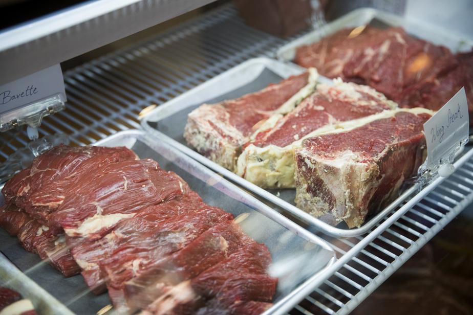 Toute la viande vient de petites fermes du coin.