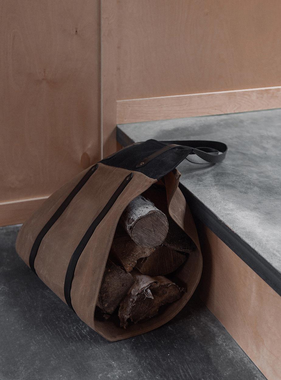 Le sac à bûches de Noujica, 150$