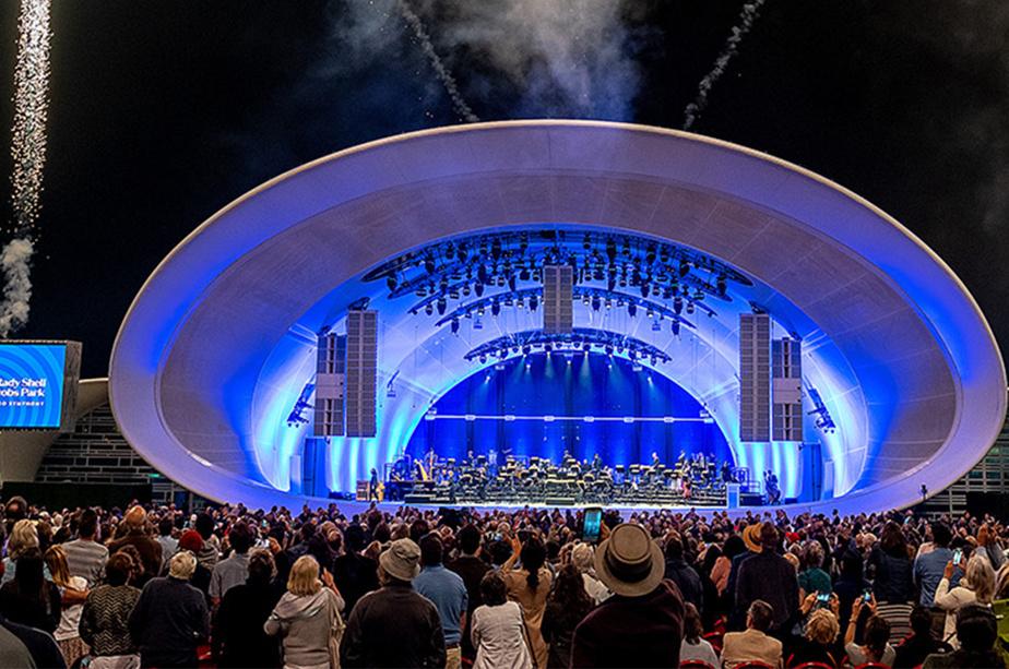 Le SanDiego Symphony et son chef, Rafael Payare, ont inauguré vendredi le Rady Shell, en Californie.