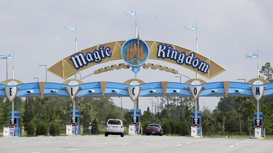PRESS Magic Kingdom du Walt Disney World à Lake Buena Vista en Floride