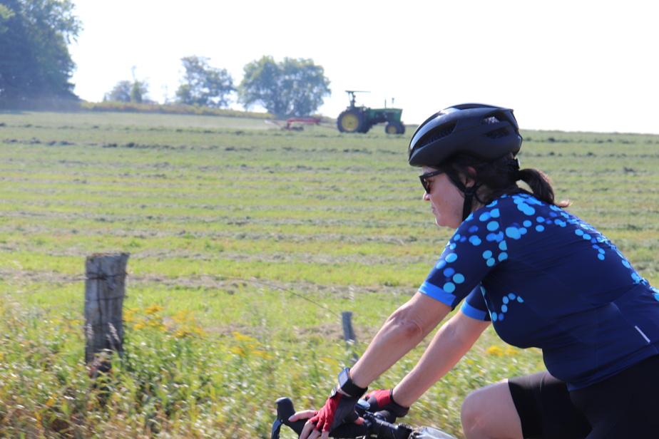 La campagne québécoise devrait attirer les cyclistes l'été prochain.
