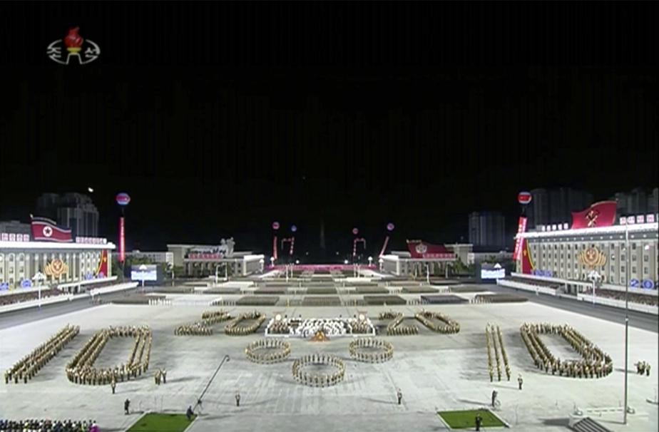 La Corée du Nord s'offre une parade militaire XXL malgré le Covid
