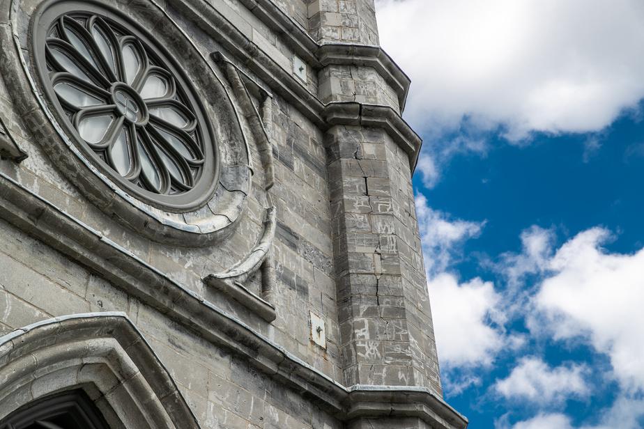 Certains secteurs «montrent des signes de dégradation préoccupante», souligne la Fabrique de la paroisse Notre-Dame.