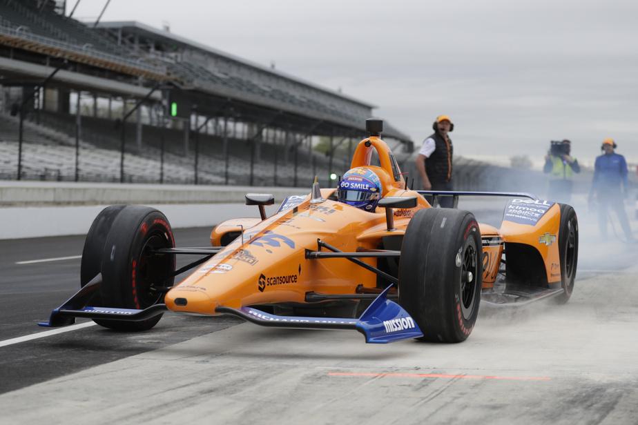 Quand Alonso fonce dans un mur — Indycar
