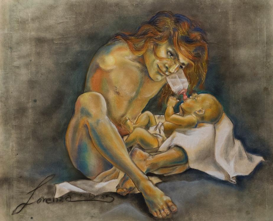 LorenzaBöttner s'intéressait à la maternité et aurait aimé avoir un enfant. «Elle voulait tout expérimenter avec son corps», dit MichèleThériault.