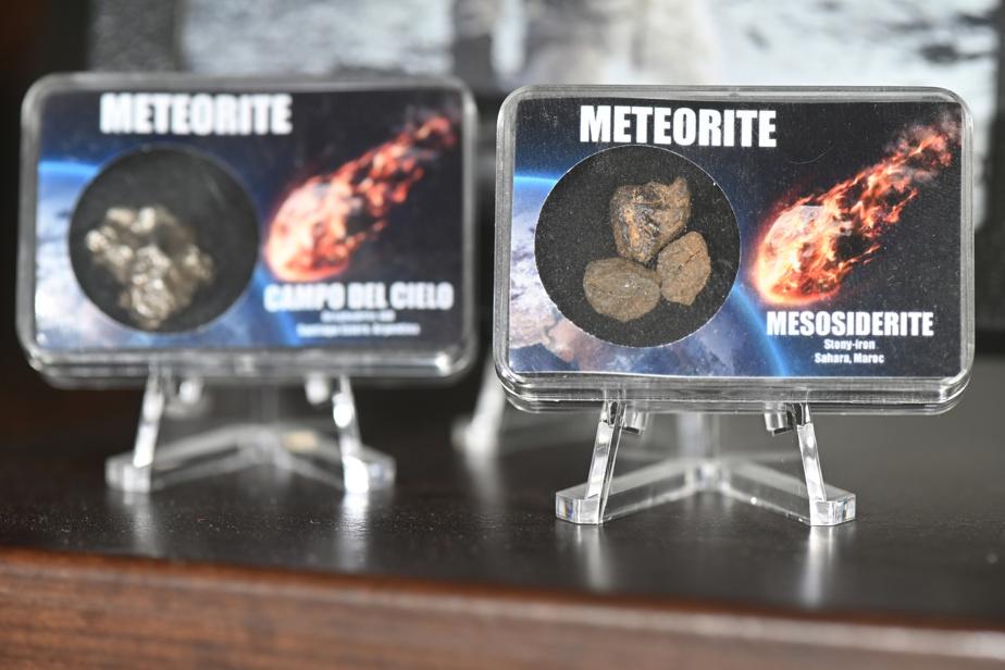 On y trouve des fragments authentiques de météorites tombées sur Terre.