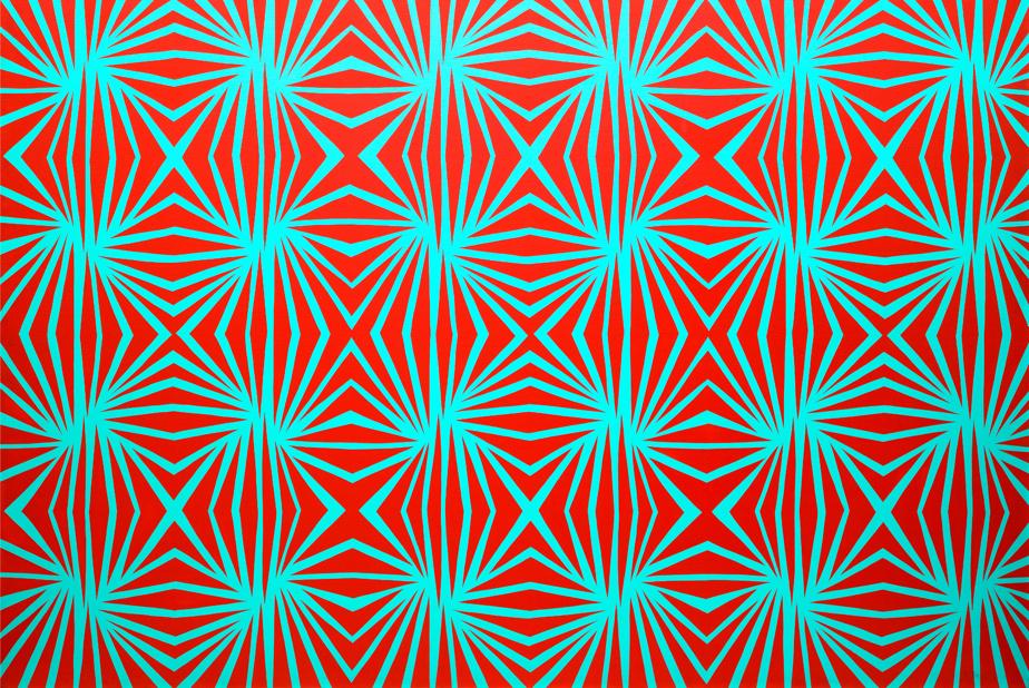 Danielle, 1966, Jacques Hurtubise (1939-2014), acrylique sur toile, 167,4cm x 243,8cm. Estimation: entre 65000$ et 85000$.