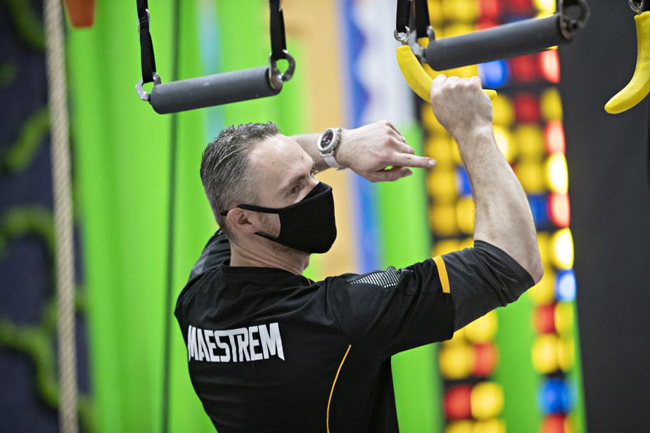 Marc-André Roy, propriétaire du Maestrem Ninja Gym