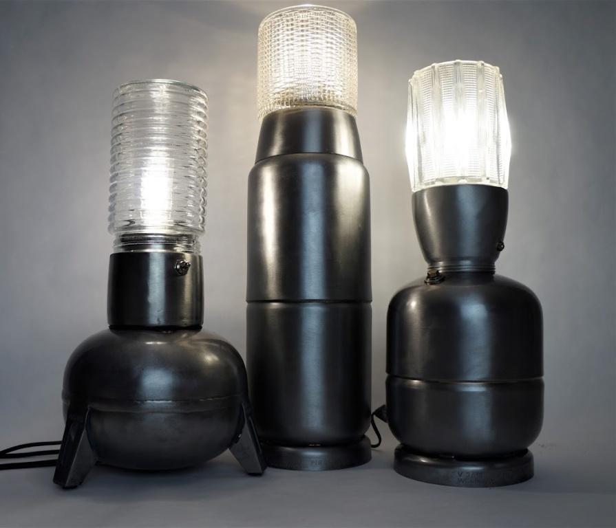 Des lampes au style particulier signées Philippe Malo