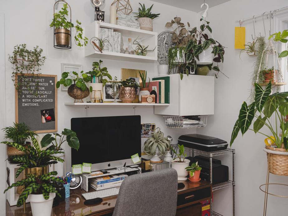 A warmer workspace
