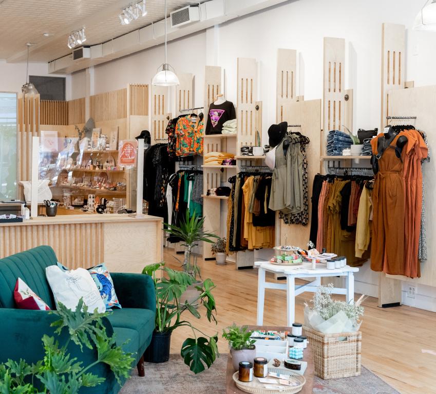 La boutique Belle+Rebelle