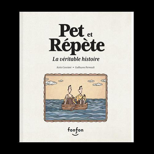 Pet et Répète: La véritable histoire, de Katia Canciani et Guillaume Perreault, est offert en version audio.