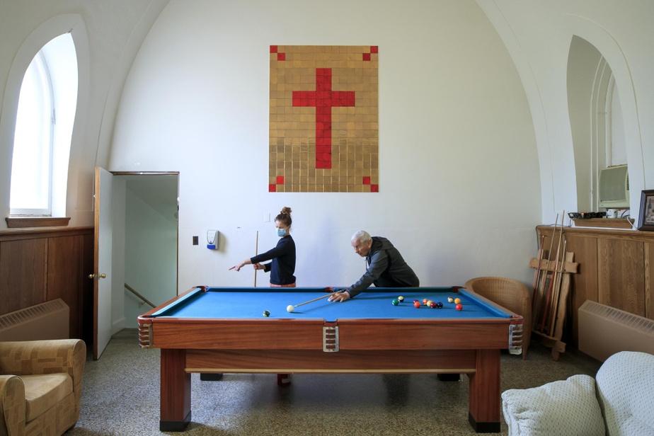 La Maison Carpe Diem a été construite dans un ancien presbytère de Trois-Rivières.