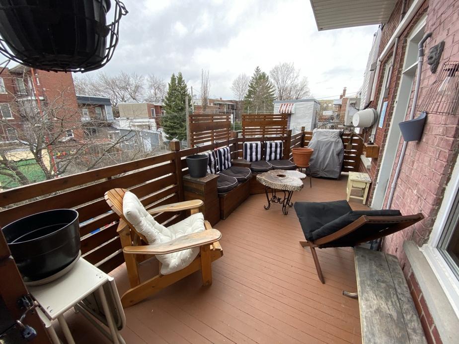 Le vaste balcon