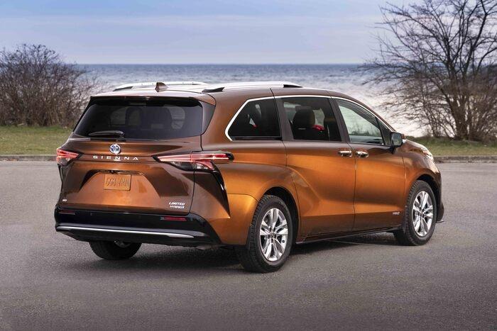 Sienna orange 2021 | Ste-Foy Toyota