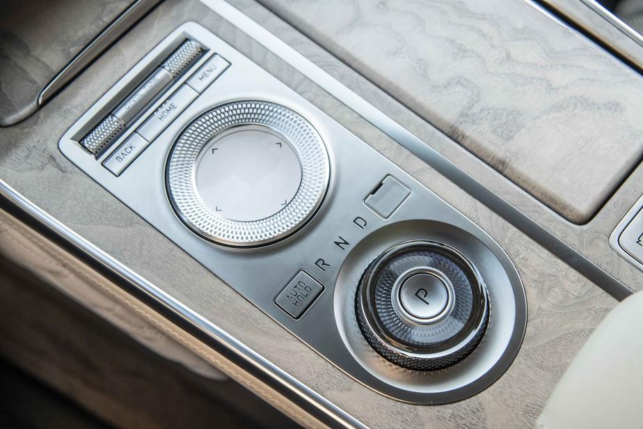 Les GV80 vendus au Canada bénéficient de série d'un rouage à quatre roues motrices.