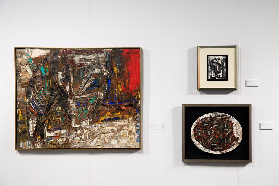 Trois peintures de Jean Paul Riopelle mises en vente par BYDealers.