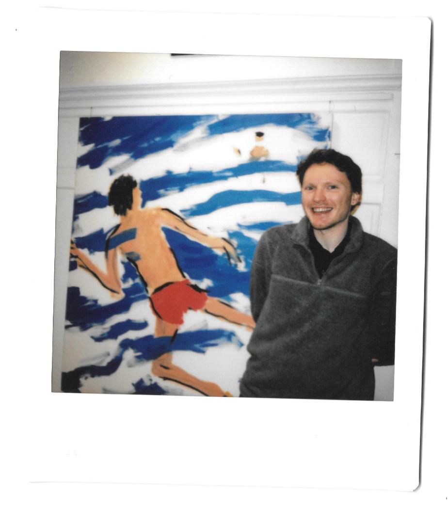 L'artiste Brent Cleveland