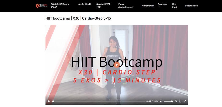 Cathy Lam, la fondatrice, est sympathique et motivante et ses entraînements sont bien pensés.