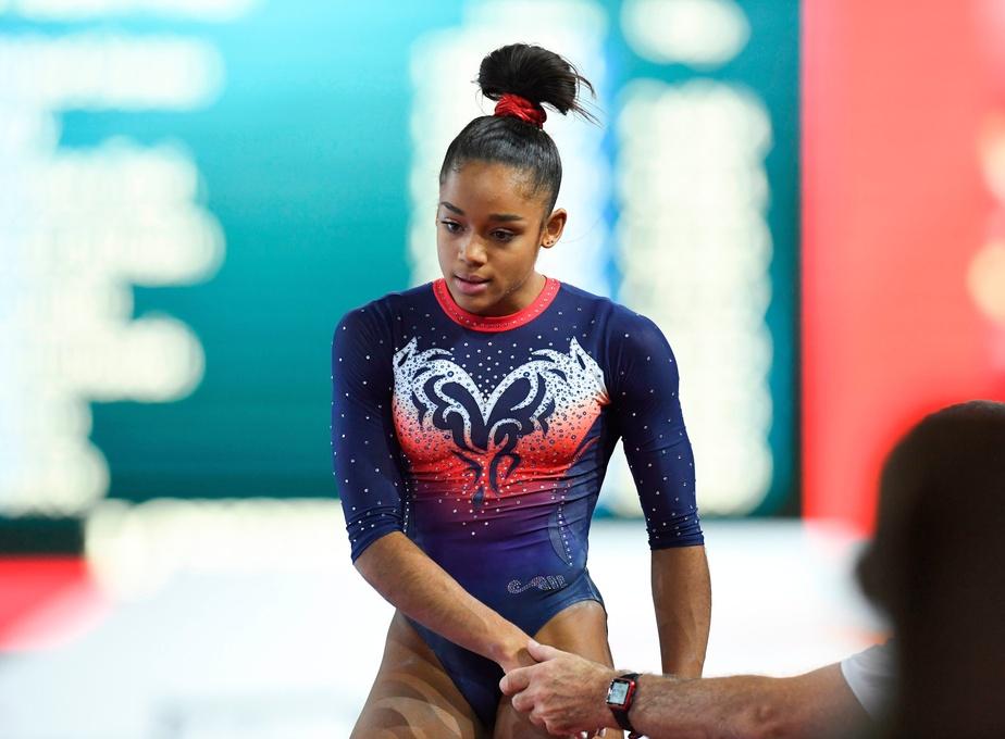 Gymnastique: Une 21e médaille mondiale pour Simone Biles