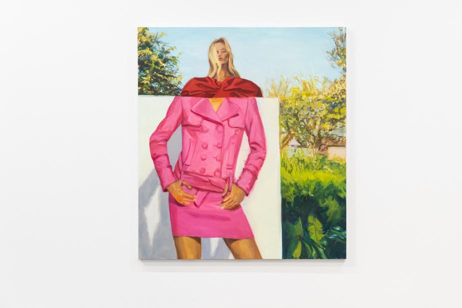 Pink suit, 2020, Janet Werner