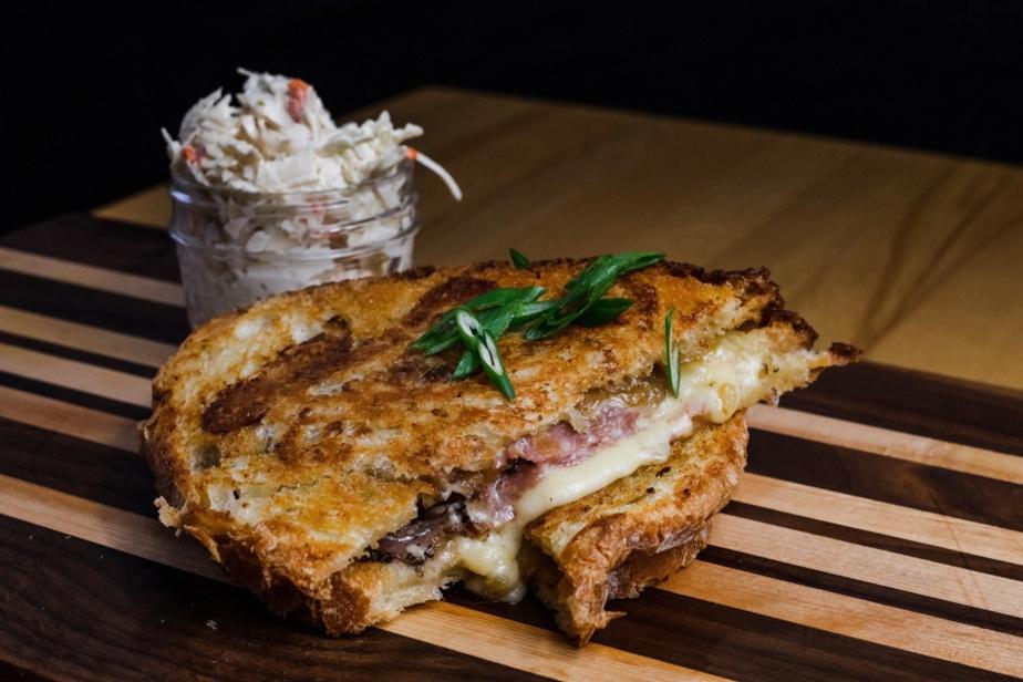 Grilled-cheese réinventé