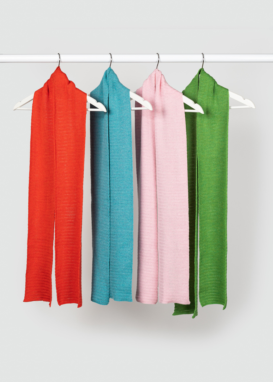 L'écharpe Lili en laine mérinos extra fine, 115$