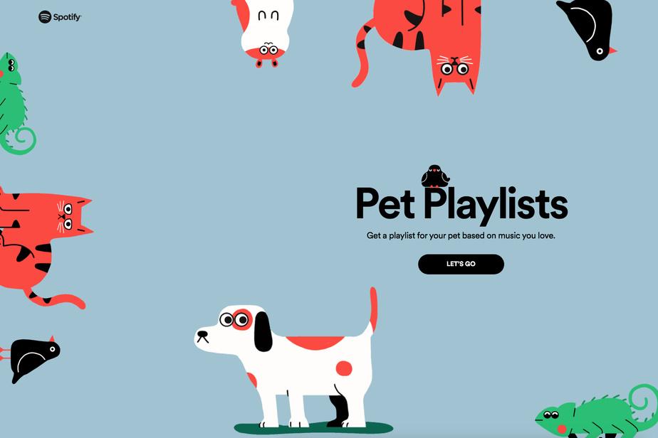 Spotify lance des playlists à personnaliser pour nos animaux de compagnie