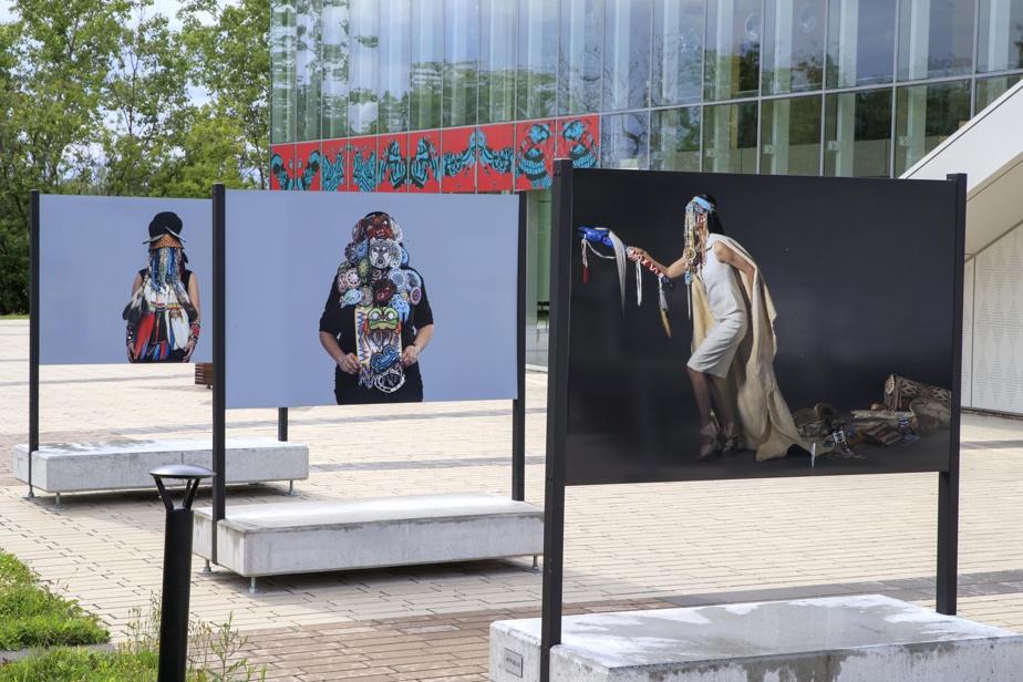 Le musée d'histoire et site archéologique de la Maison Nivard-De Saint-Dizier, à Verdun, organise jusqu'au 17octobre Un fleuve coupe la roche, expo en plein air de 15œuvres d'art autochtone choisies par le commissaire cri Mike Patten. Au musée sont exposées huit photographies de l'artiste anichinabée Lisa Myers.