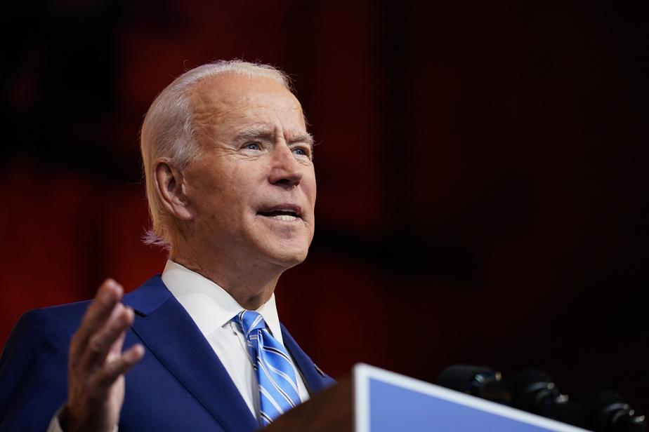 Joe Biden, président désigné des États-Unis, au sujet de la nouvelle équipe de communications de la Maison-Blanche composée de femmes de divers horizons.