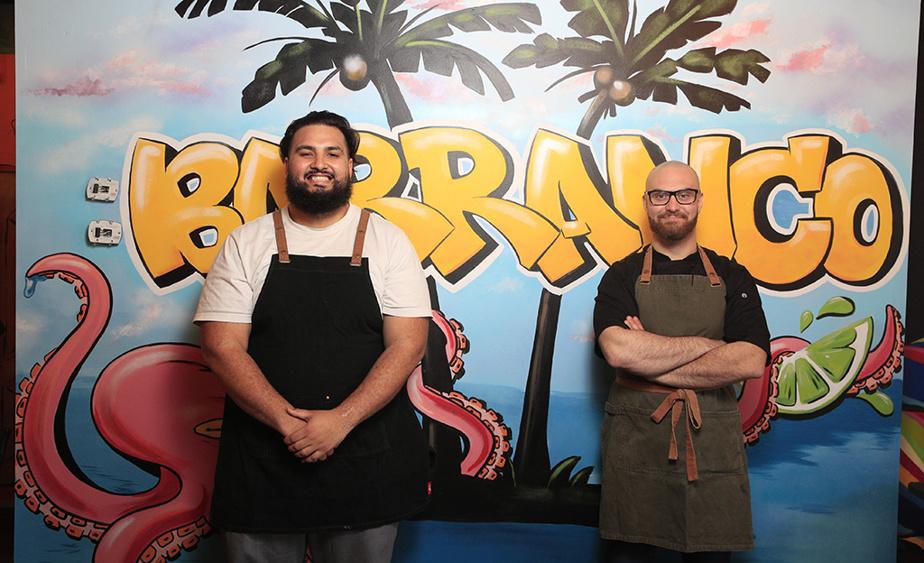 En cuisine, le chef Daniel Silva, autrefois au Tiradito et au Chifa, est appuyé par le cuisinier Michelangelo Miceli.
