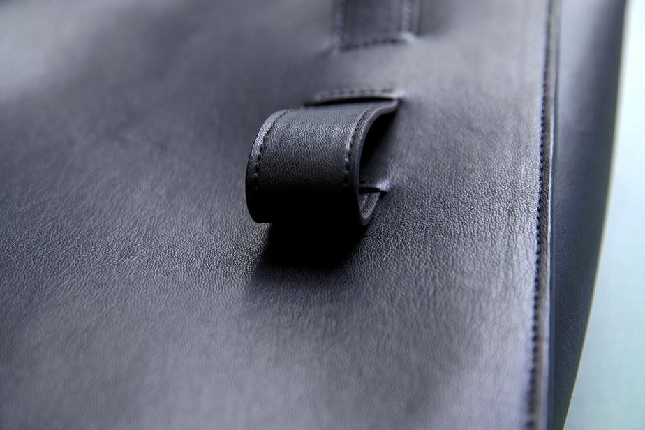 Il était important pour la créatrice que la qualité de ses sacs soit la même que celle des articles en cuir haut de gamme.